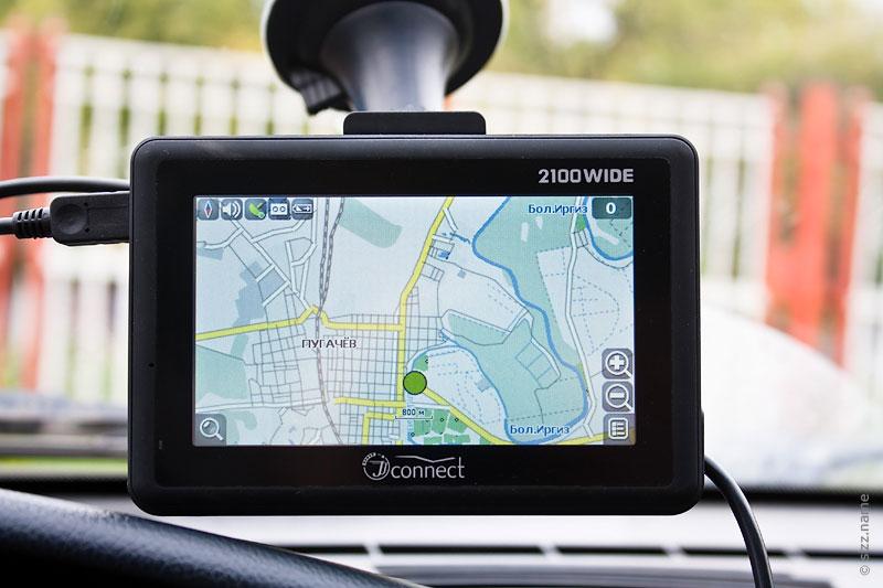 Автомобильный навигатор JJ-Connect 2100 Wide