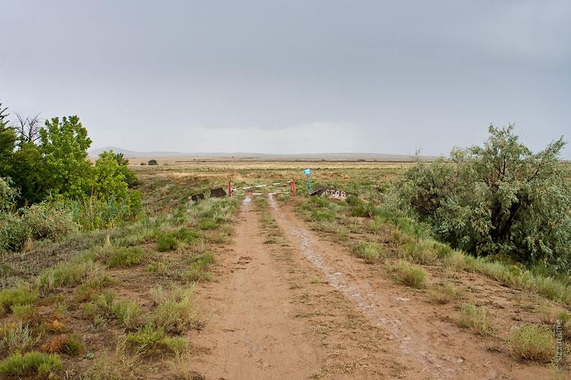 Закрытый въезд на территорию Богдо-Баскунчакского заповедника