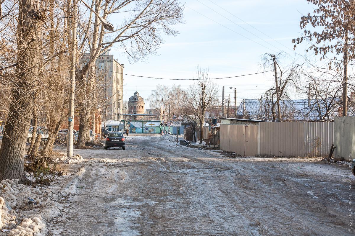 улица Беговая, Саратов, зима