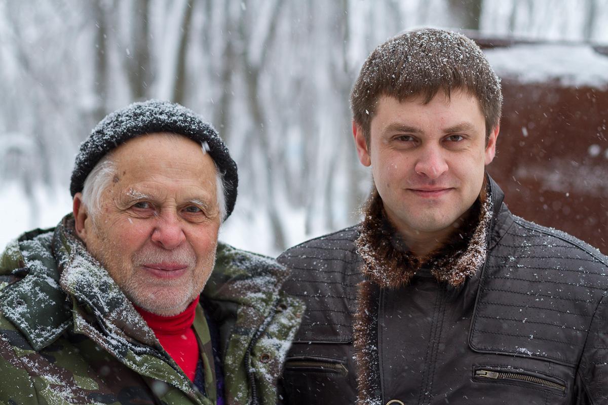 Я с Дмитрием Сергеевичем