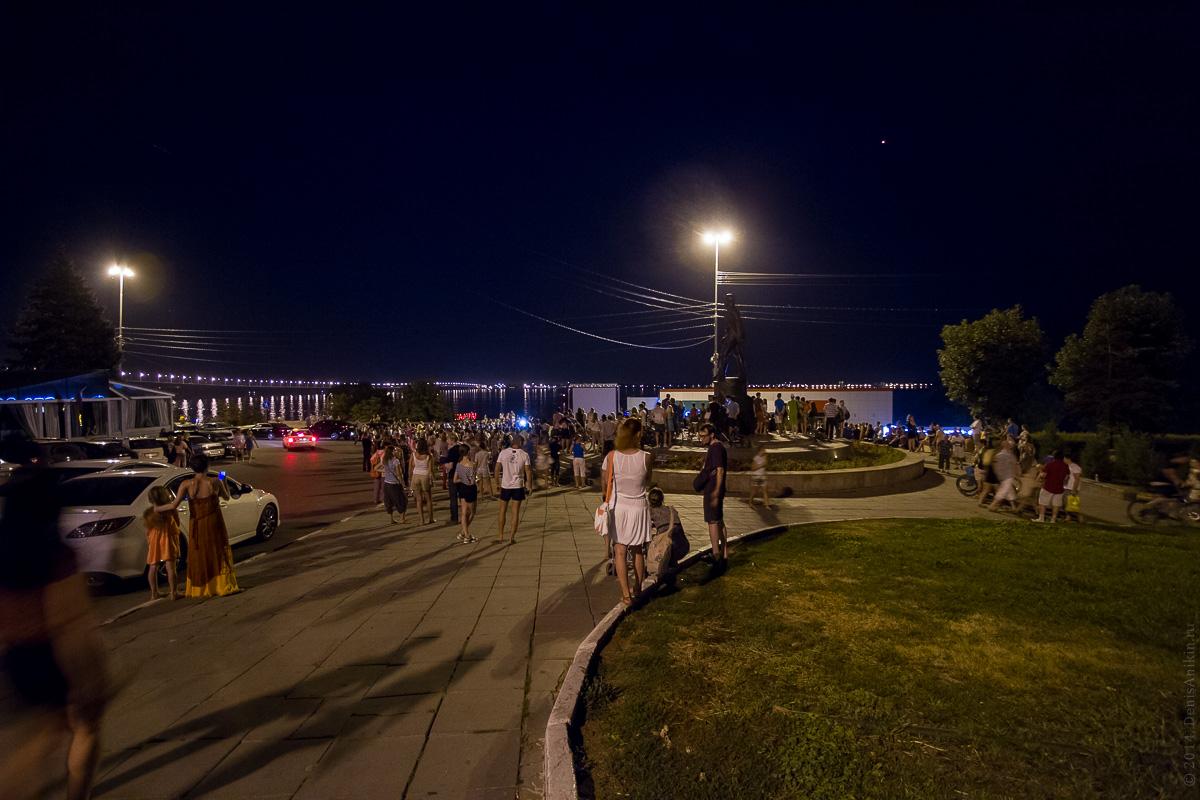 Фестиваль уличного кино в Саратове 15.08.2014 фото 2