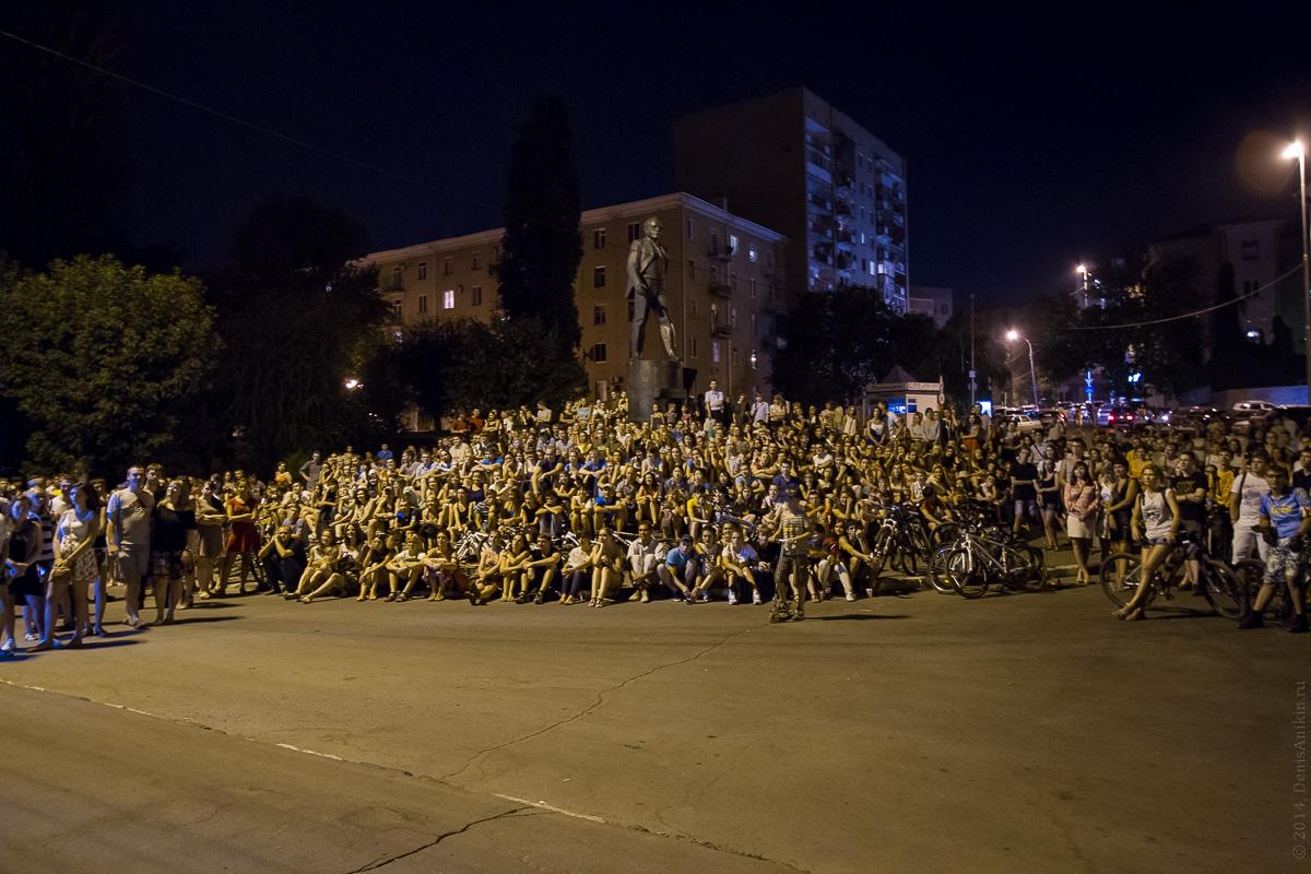Фестиваль уличного кино в Саратове 15.08.2014 фото 5