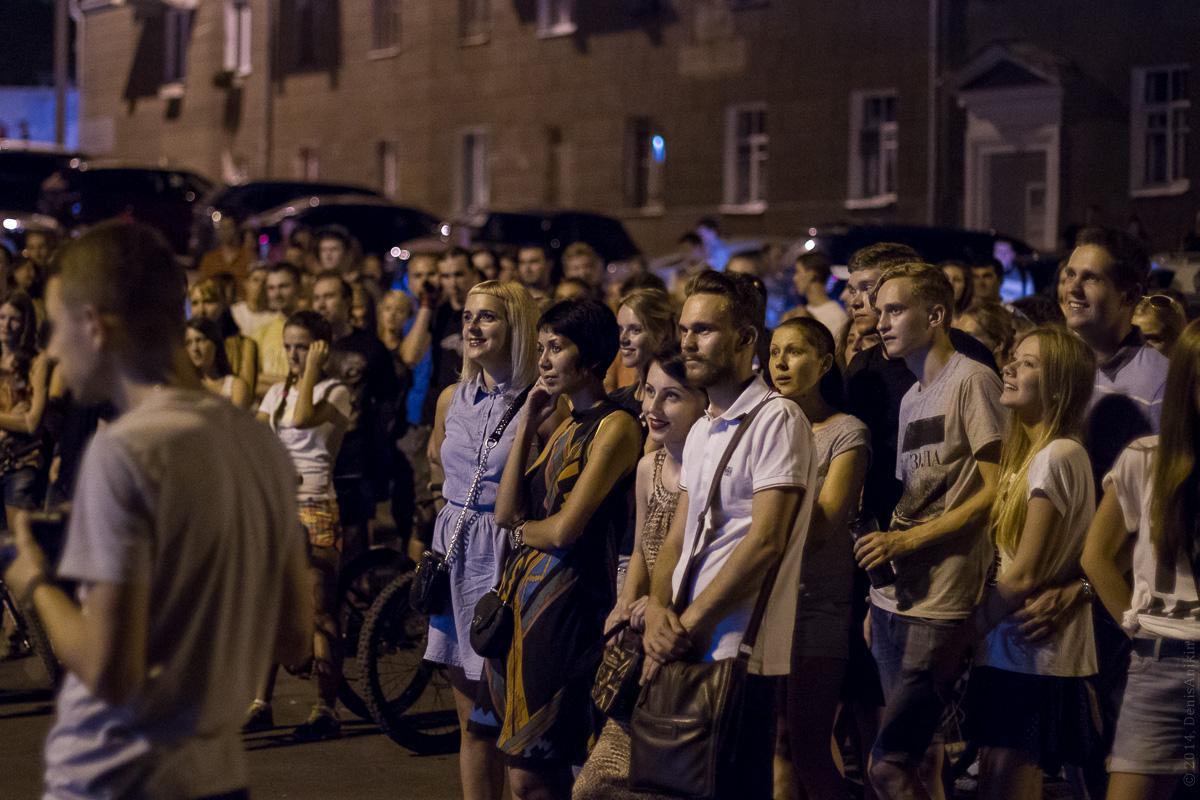 Фестиваль уличного кино в Саратове 15.08.2014 фото 7