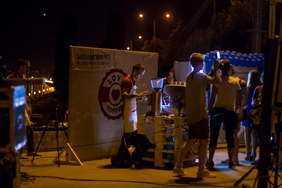 Фестиваль уличного кино в Саратове 15.08.2014 фото 8