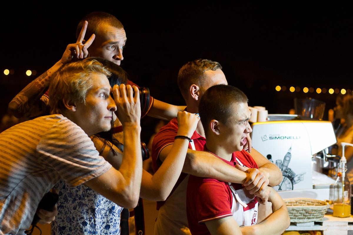 Фестиваль уличного кино в Саратове 15.08.2014 фото 12