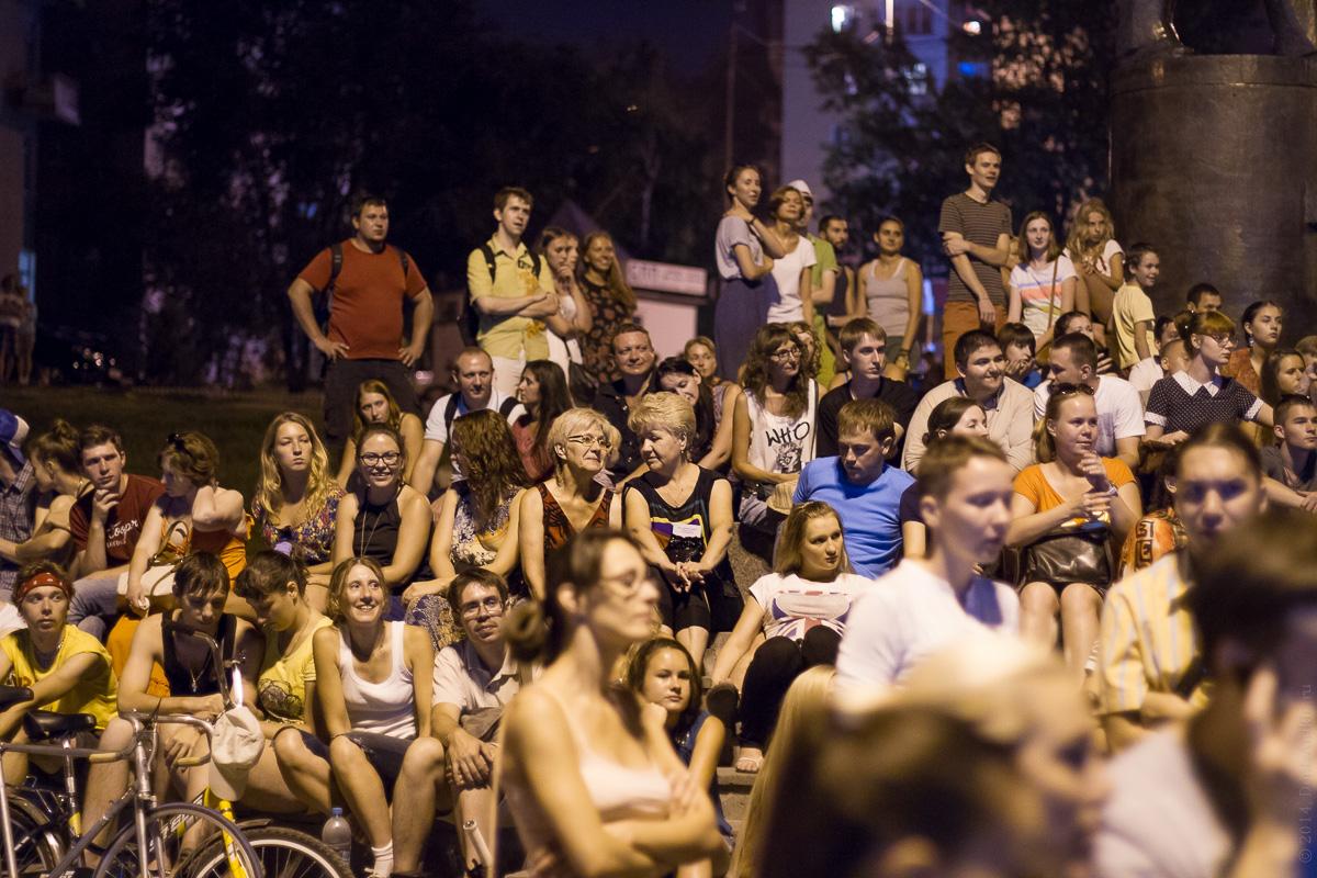 Фестиваль уличного кино в Саратове 15.08.2014 фото 18