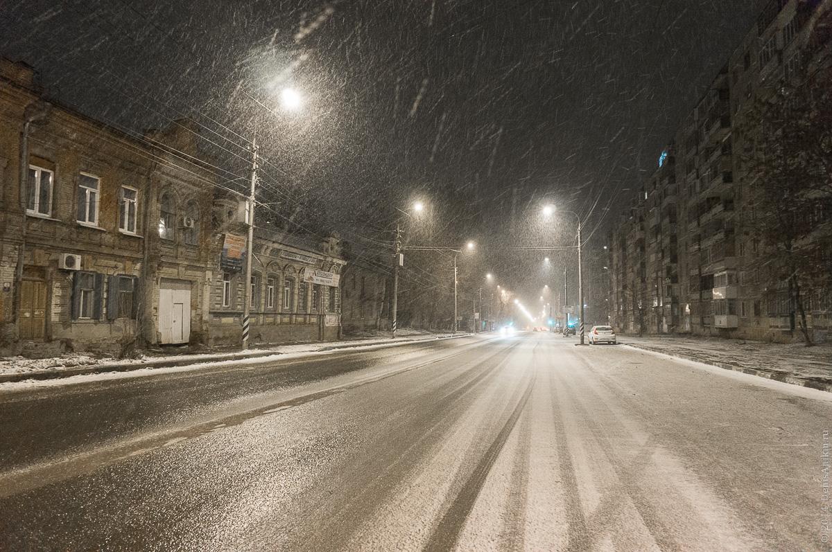 Снег Саратов Большая Горная