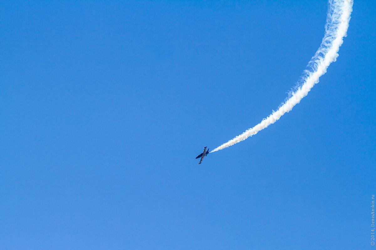 Выступление пилотажной группы Русь в Саратове фото 4