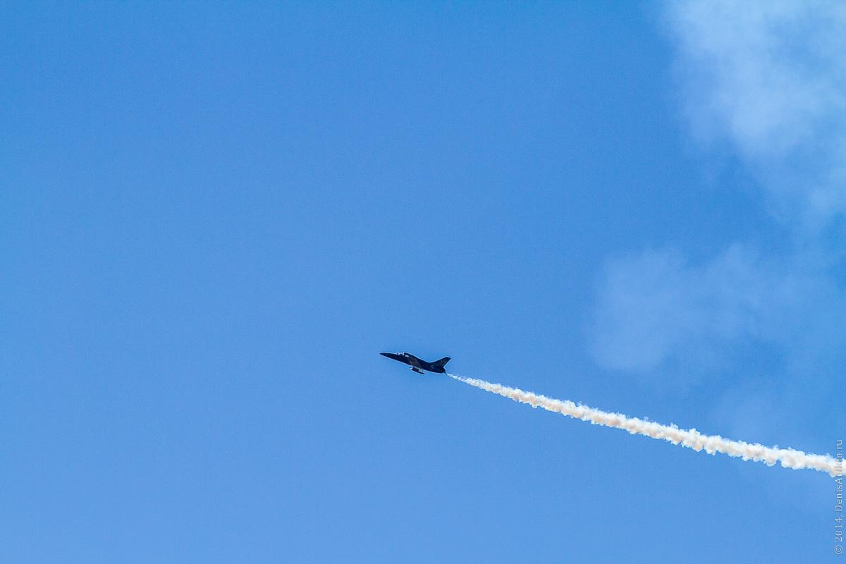Выступление пилотажной группы Русь в Саратове фото 5