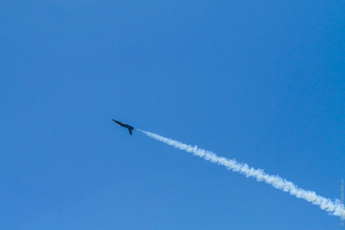 Выступление пилотажной группы Русь в Саратове фото 6