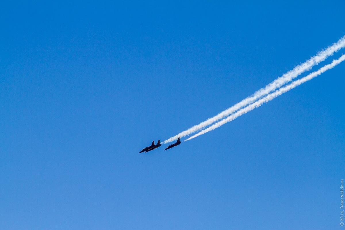 Выступление пилотажной группы Русь в Саратове фото 10