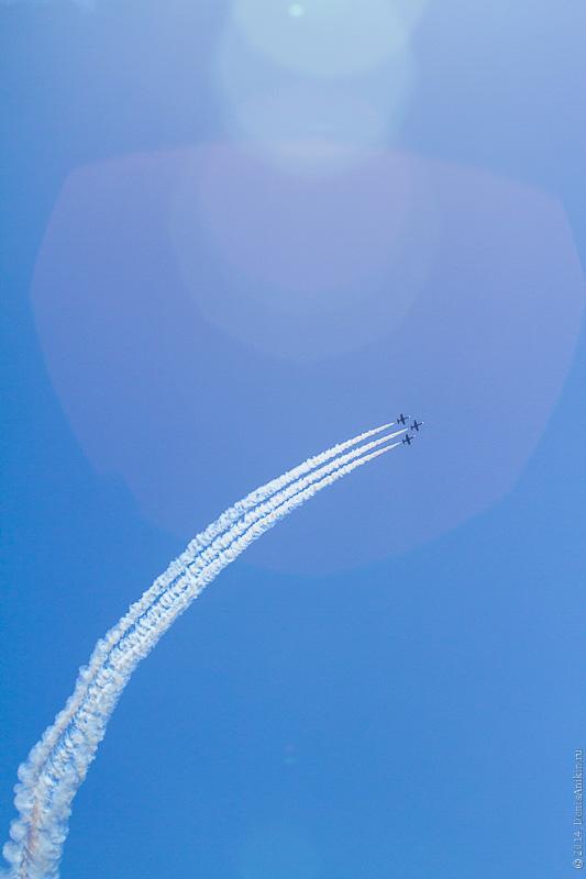 Выступление пилотажной группы Русь в Саратове фото 11