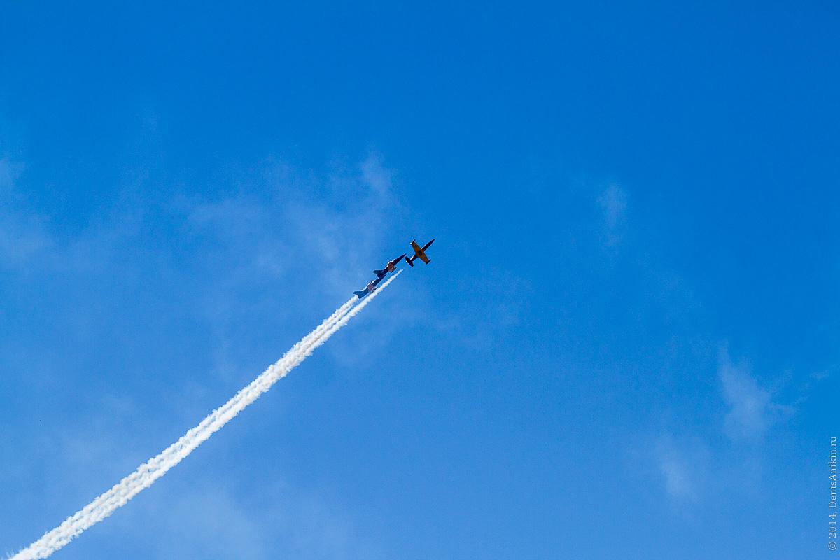 Выступление пилотажной группы Русь в Саратове фото 13