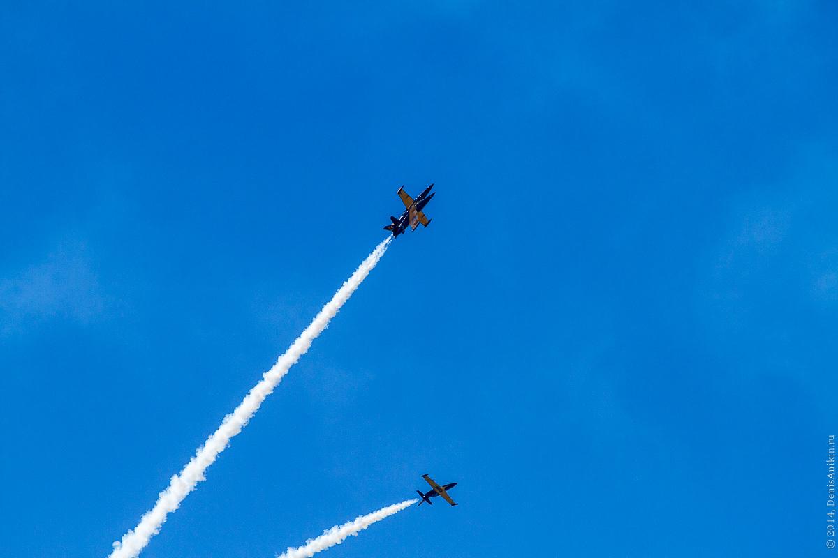 Выступление пилотажной группы Русь в Саратове фото 14