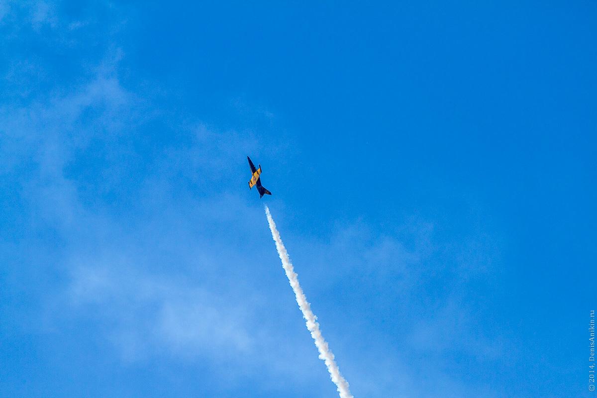 Выступление пилотажной группы Русь в Саратове фото 19