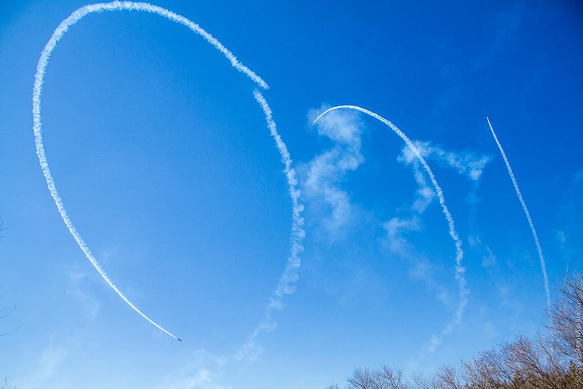 Выступление пилотажной группы Русь в Саратове фото 21