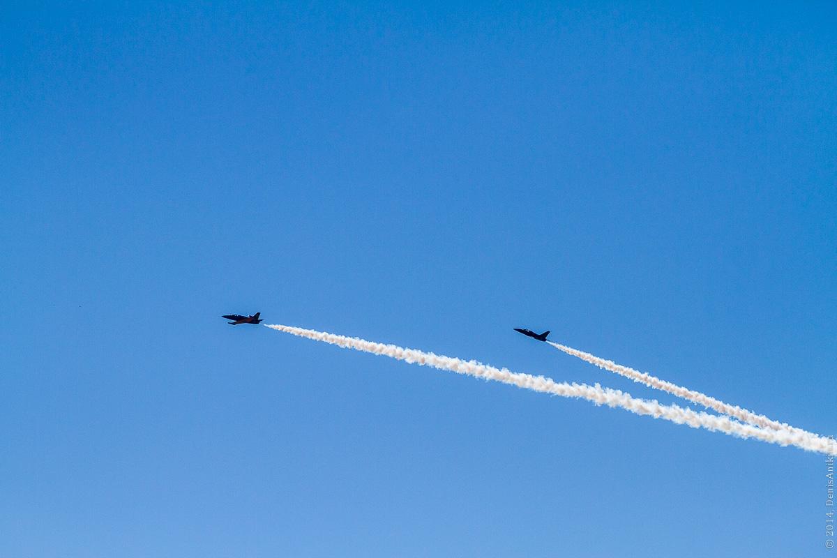 Выступление пилотажной группы Русь в Саратове фото 22