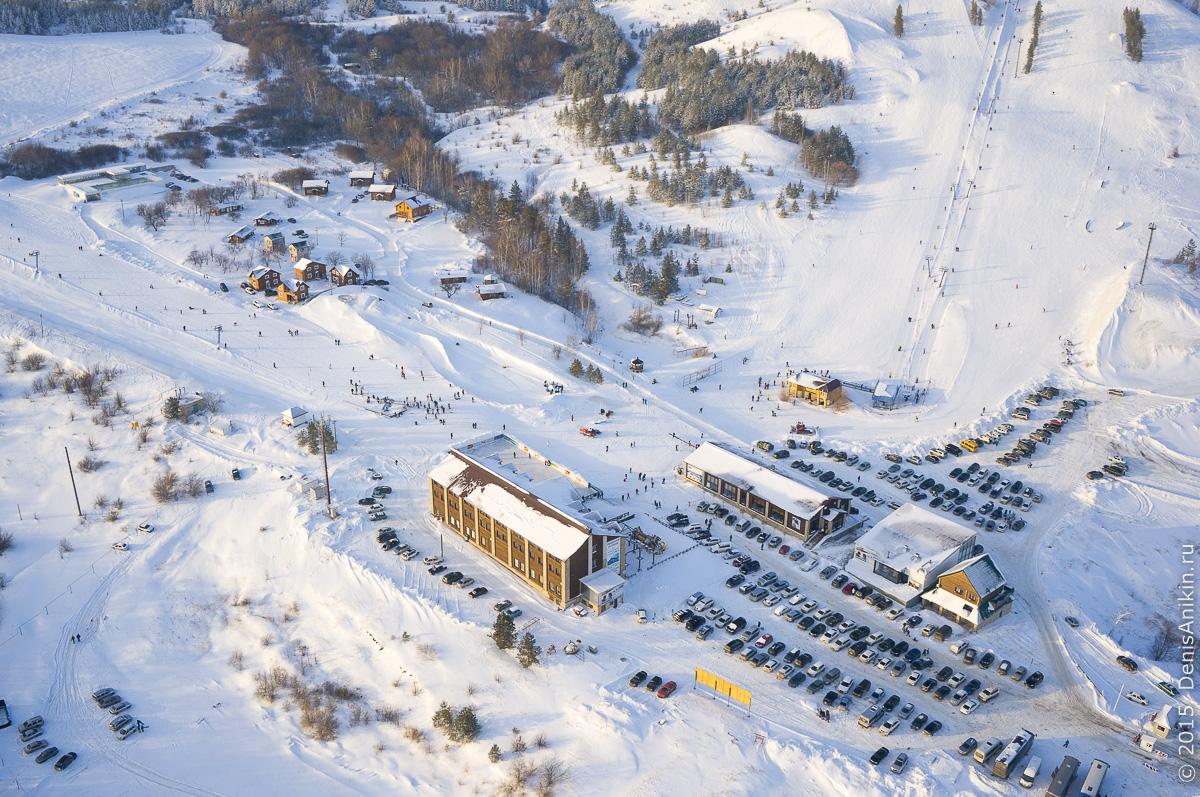 Хвалынский горноложный курорт с высоты 2