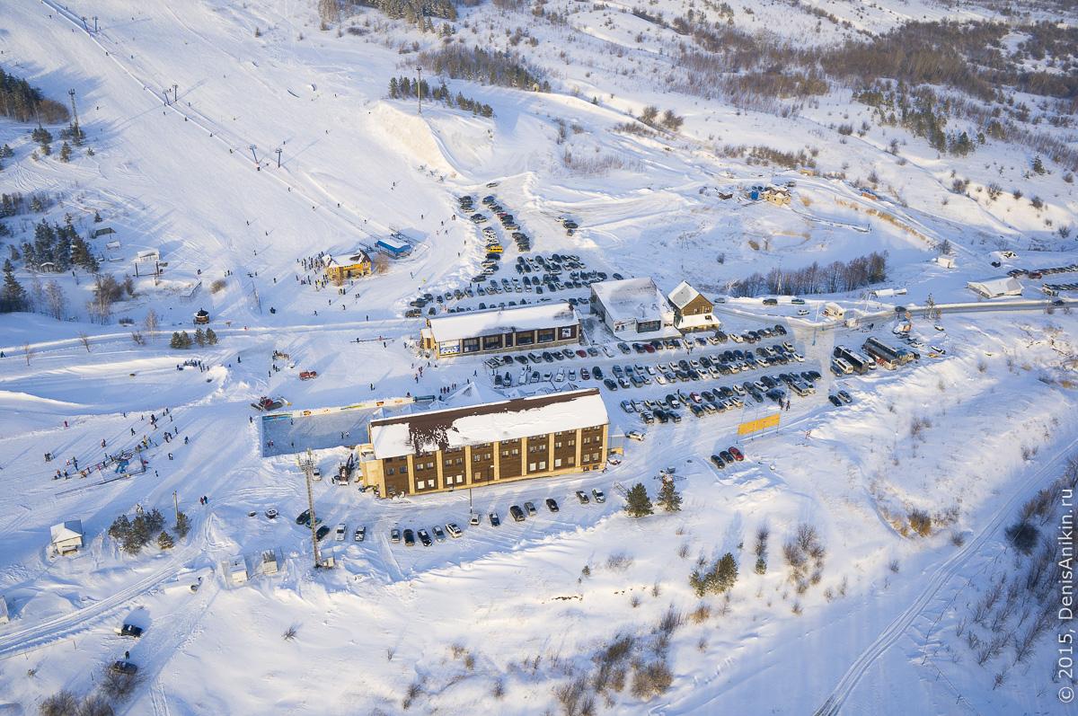 Хвалынский горноложный курорт с высоты 7