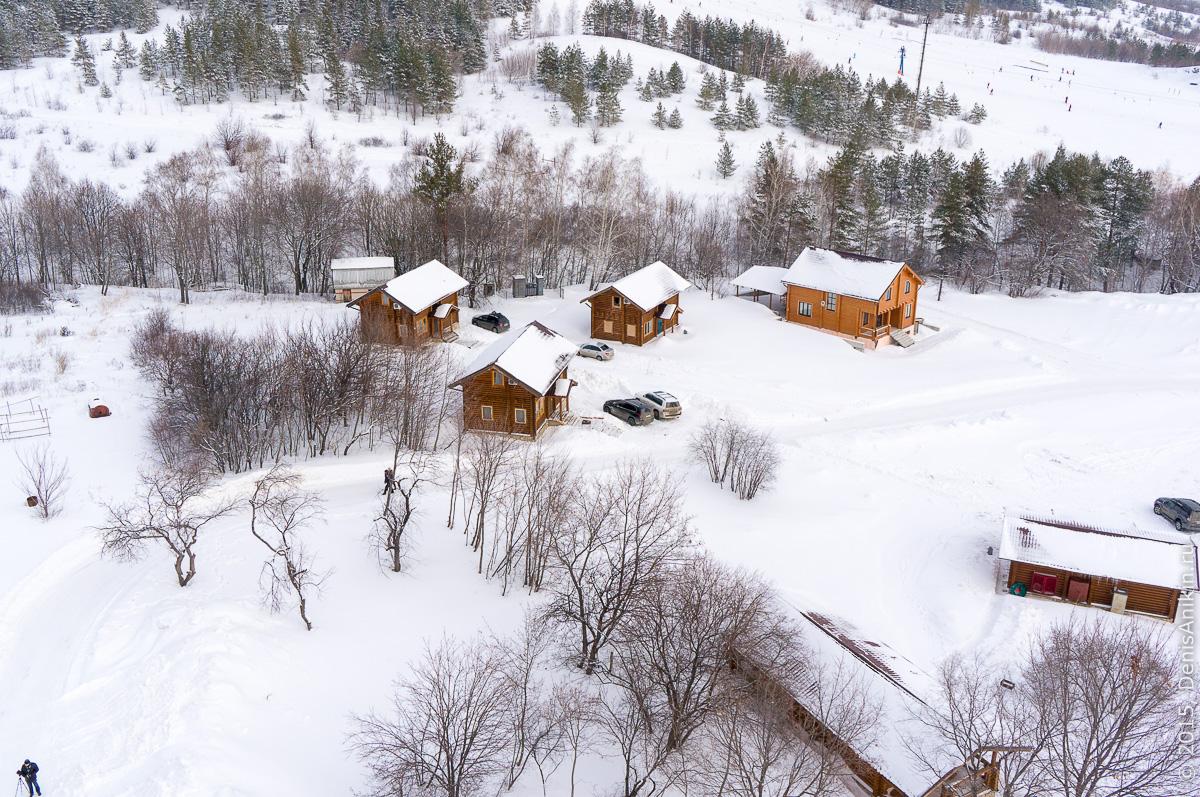 Хвалынский горноложный курорт с высоты 12
