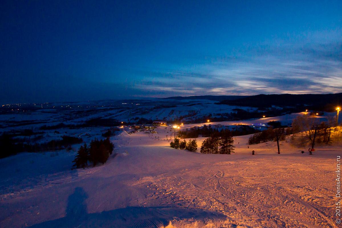 Хвалынский горноложный курорт с высоты 15