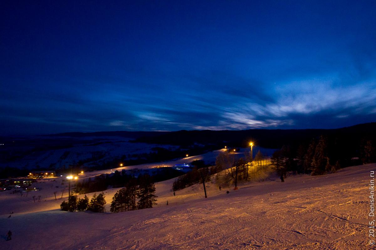 Хвалынский горноложный курорт с высоты 16
