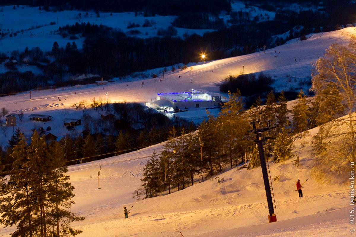 Хвалынский горноложный курорт с высоты 18