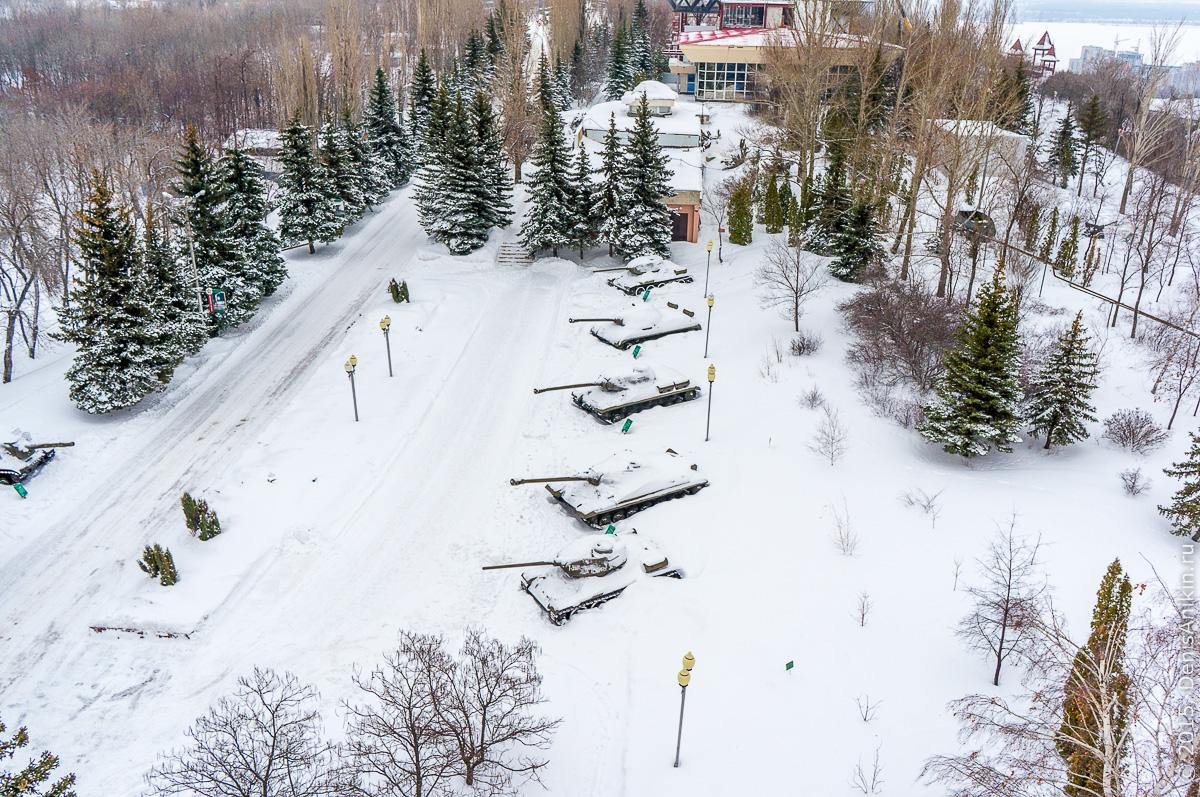 Парк Победы Саратов танки