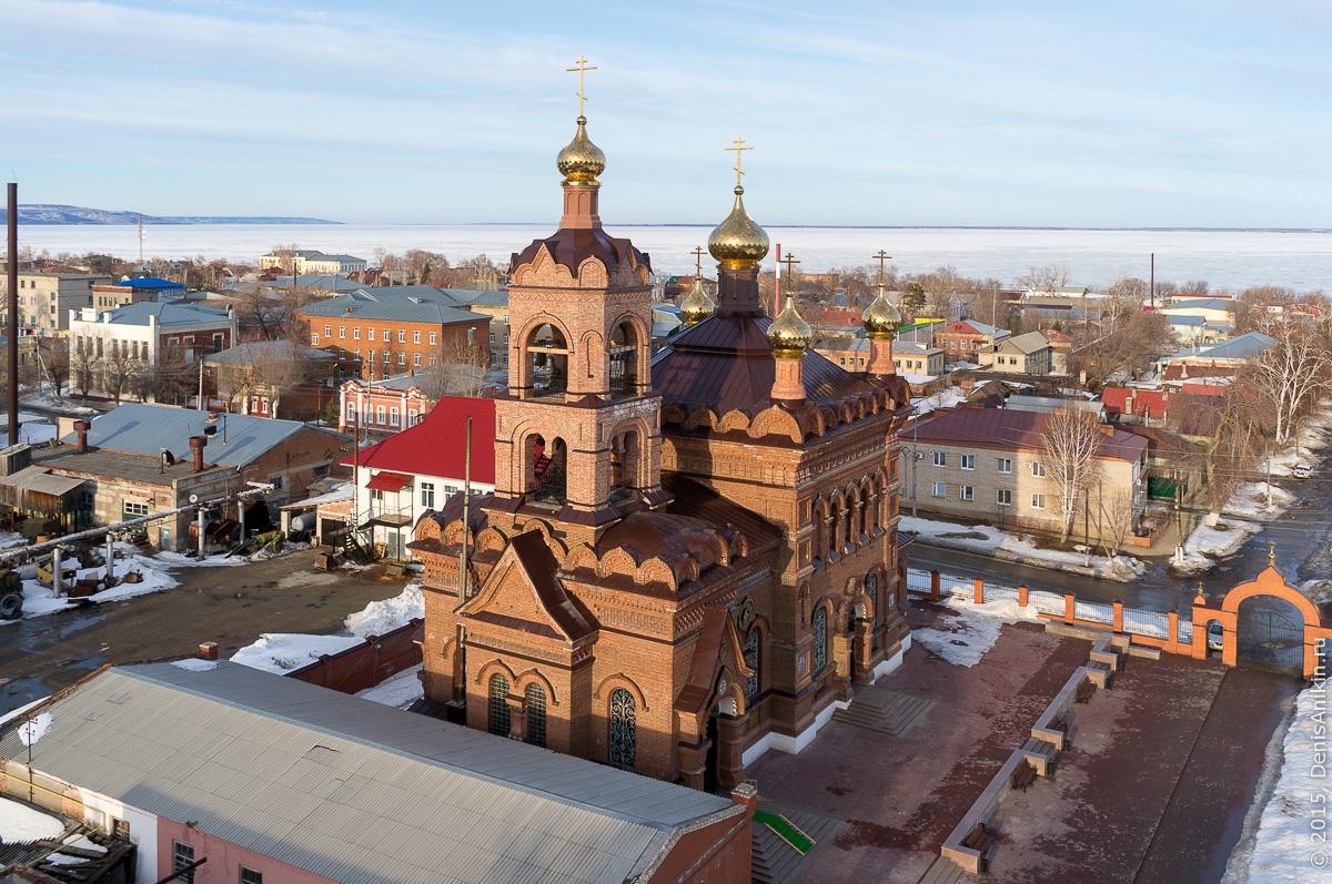Крестовоздвиженская Церковь, Хвалынск 1