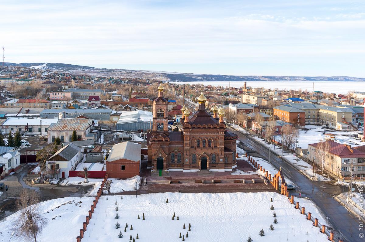 Крестовоздвиженская Церковь, Хвалынск 3