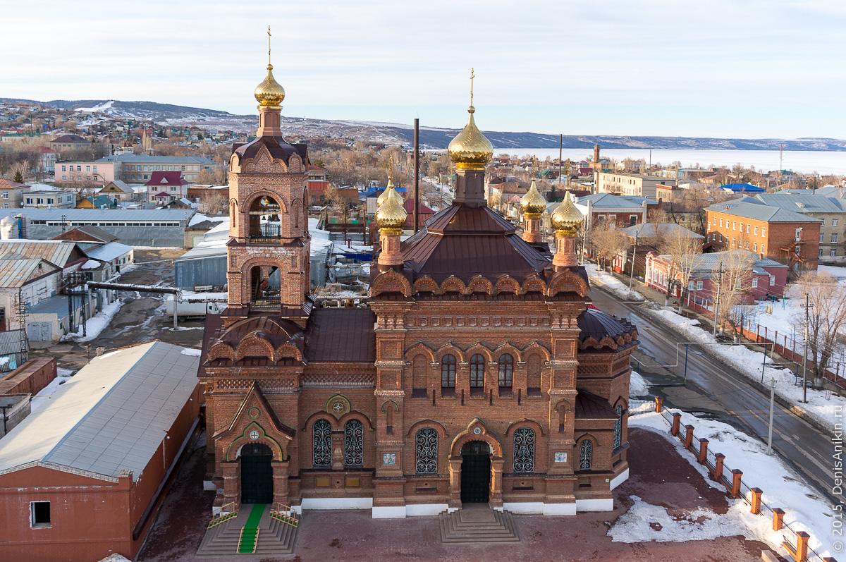 Крестовоздвиженская Церковь, Хвалынск 4