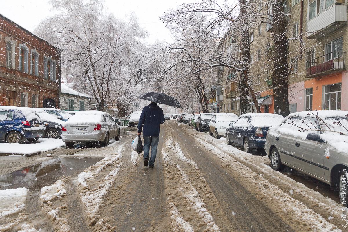 Апрельский снегопад 8