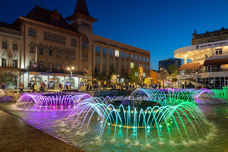 Цветомузыкальный фонтан Мелодия Саратов фото 1