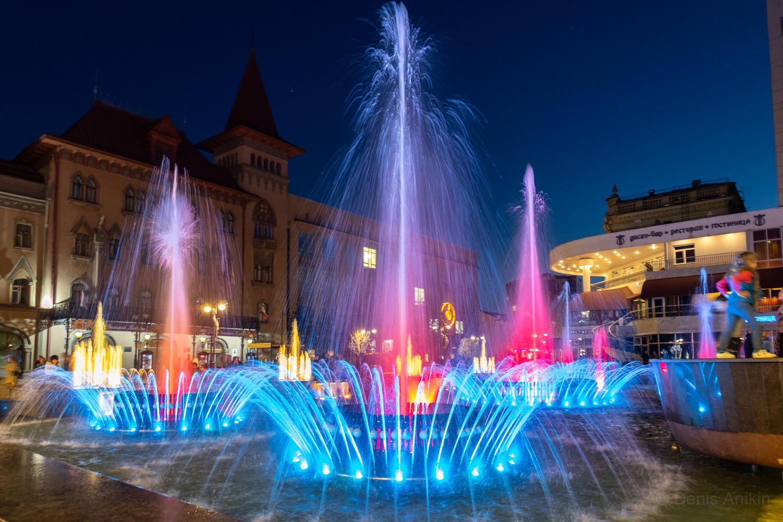 Цветомузыкальный фонтан Мелодия Саратов фото 3