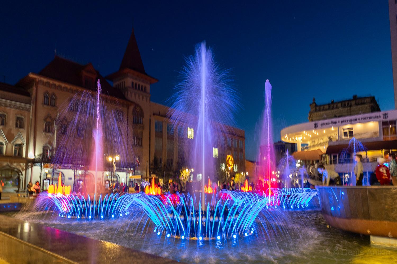 Цветомузыкальный фонтан Мелодия Саратов фото 4