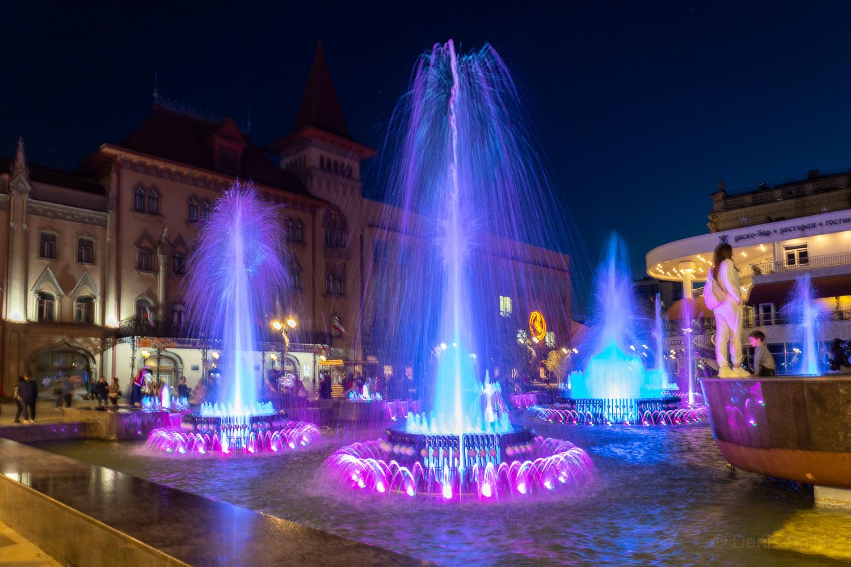 Цветомузыкальный фонтан Мелодия Саратов фото 5